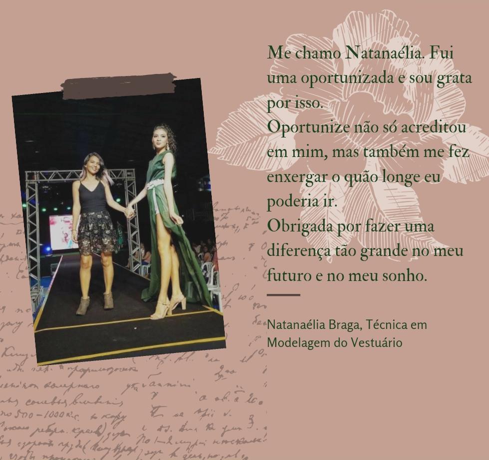 Natanaélia Braga - Oportunize